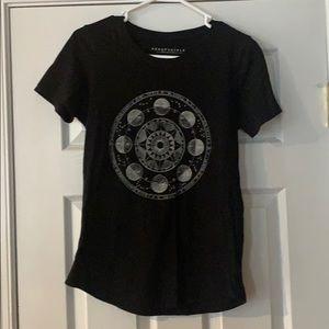 Aeropostale Black short sleeve t shirt